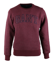 Detail Gant Sweater Bordeaux