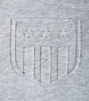 Detail Gant Sweater Embossed Grey