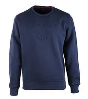 Gant Sweater Embossed Navy