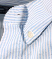 Detail Gant Tee-off Comfort Oxford Blue Stripe