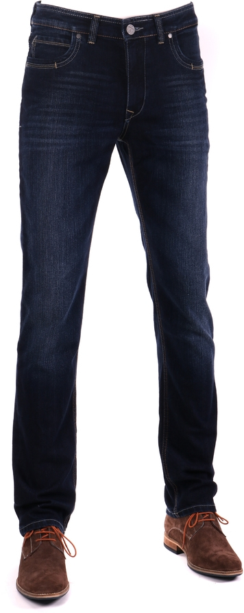 Gardeur Batu Modern-Fit Spijkerbroek Dark Blue