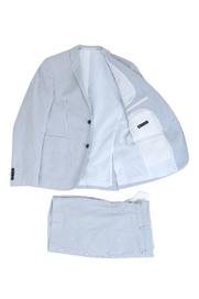 Gestreept Bermuda Kostuum Broek