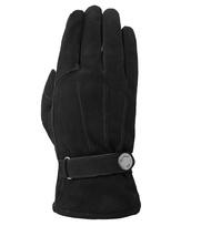 Gevoerde Suede Handschoenen Laimbock Zwart