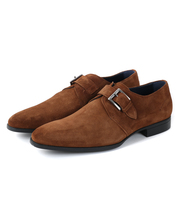 Greve Monk Strap Fiorano Brown