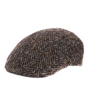 Groene Flat Hat Wol