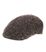 Green Flat Hat Wool
