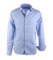 Hamaki-Ho Overhemd Blauw Dots