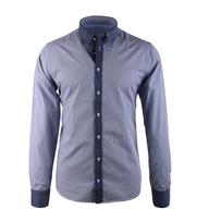 Hamaki-Ho Overhemd Blauw Print