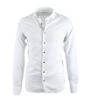 Hamaki-Ho Overhemd Print Wit