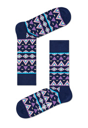 Detail Happy Socks Temple Paars TEM01-6000