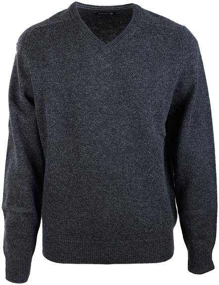 Pullover Lammwolle Anthrazit