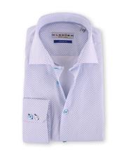 Ledub Overhemd Blue Print