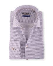 Ledub Overhemd Bruin Print