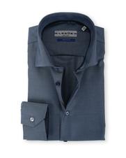 Detail Ledub Overhemd Donkerblauw Non Iron