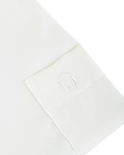 Detail Ledub Overhemd Ecru Non Iron