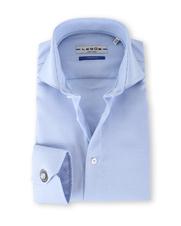 Ledub Overhemd Print Lichtblauw SL7