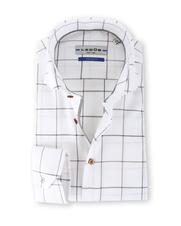 Ledub Overhemd Tailor Fit Ruit