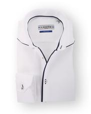 Ledub Overhemd White Twill