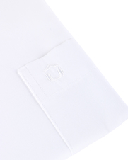 Detail Ledub Overhemd Wit Modern Fit