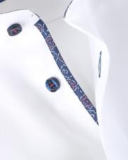 Detail Ledub Shirt Wit Non Iron