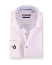 Ledub Strijkvrij Shirt Wit SL7