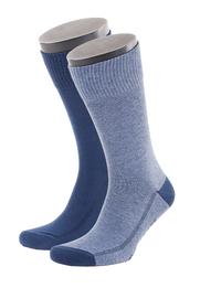 Levi\'s Sok Katoen 2-Pack Middenblauw 824