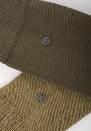 Detail Levi\'s Sok Katoen 2-Pack Olijf 154