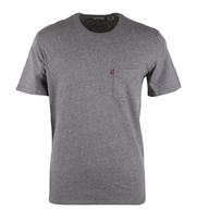 Levi\'s T-shirt Pocket Grijs