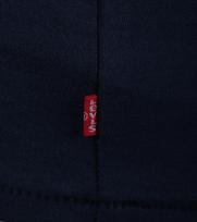 Detail Levi\'s T-shirt Logo Print Blauw