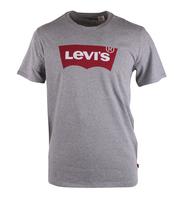 Levi\'s T-Shirt mit Logo Grau