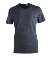 Levi\'s T-shirt Pocket Antraciet