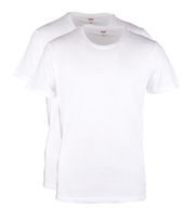 Levi\'s T-shirt Ronde Hals Wit 2Pack