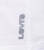 Detail Levi\'s T-shirt Ronde Hals Wit 2Pack