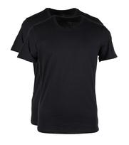 Levi\'s T-shirt Ronde Hals Zwart 2Pack
