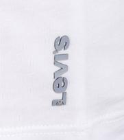 Detail Levi\'s T-shirt V-Hals Wit 2Pack