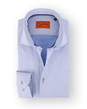 Lichtblauw Twill Overhemd 61