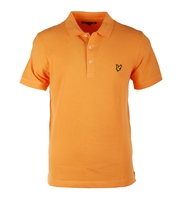 Lyle & Scott Basic Polo Orange