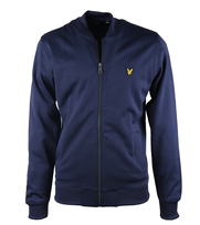 Lyle & Scott Bomber Sweatshirt Navy