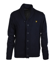 Lyle & Scott Cardigan Shawl Navy