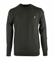 Lyle & Scott Wool Pullover Green