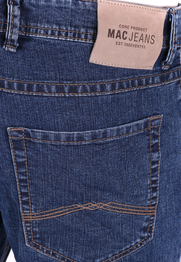 Detail Mac Broek Ben Stretch Stonewash Dark H108