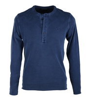 Marc O\'Polo Henley Longsleeve Moon Blue