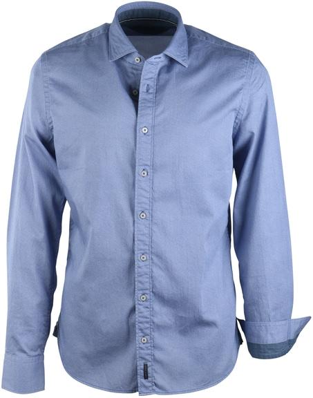 Marc O\'Polo Overhemd Blauw Print