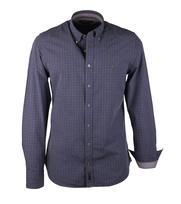 Marc O\'Polo Overhemd Blue Grey Checks