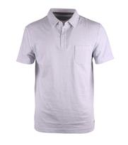 Marc O\'Polo Poloshirt Lichtgrijs Pocket