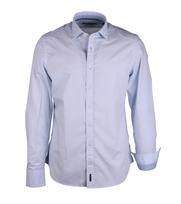 Marc O\'Polo Shirt Lichtblauw Print