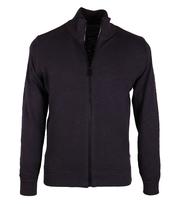 Marc O\'Polo Vest Cotton Slub Donkerblauw