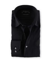 Michaelis Overhemd Slim Fit Zwart