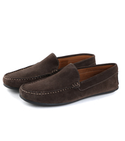 Moccasin Suede Donkerbruin