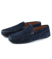 Moccasin Suede Navy